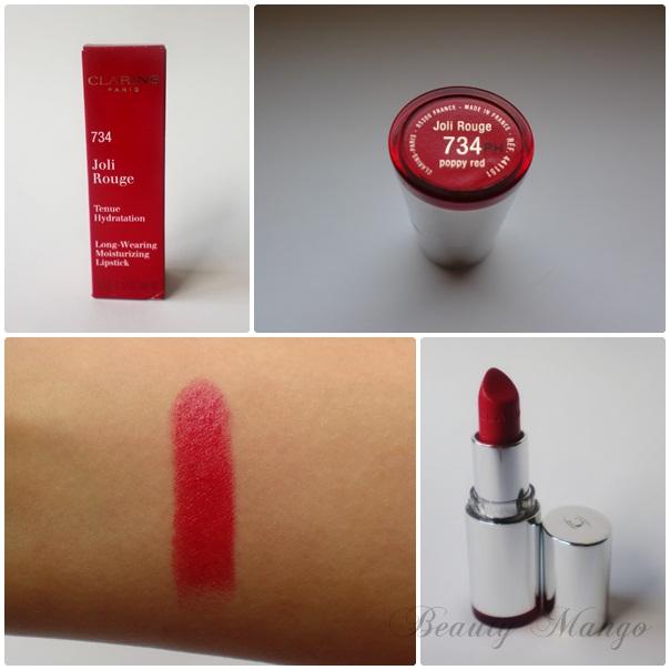 Red Friday #1 Clarins Poppy Red