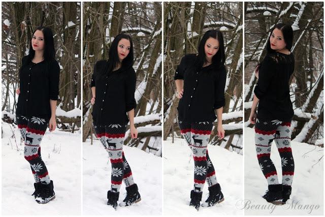 [Outfit] Winter auf der Leggings