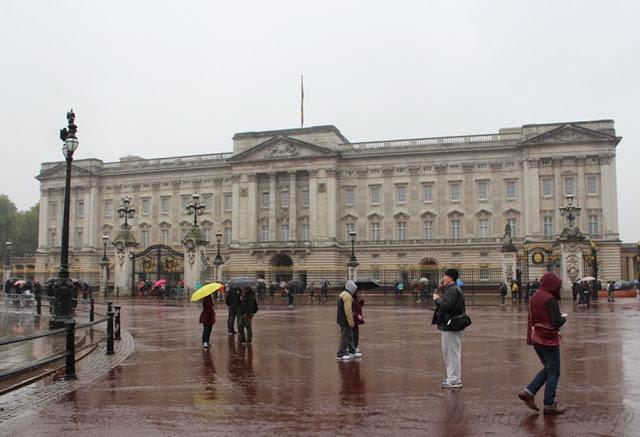London – Tag 3 & 4 – Buckingham Palace, Big Ben, London Eye