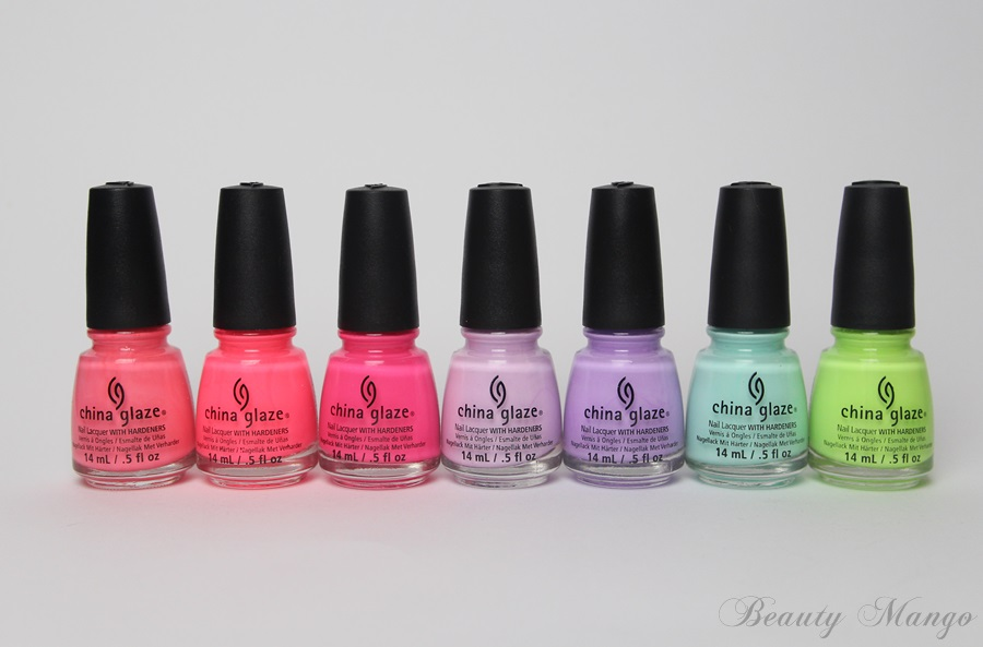 China Glaze City Flourish Spring 2014 Haul + Swatches
