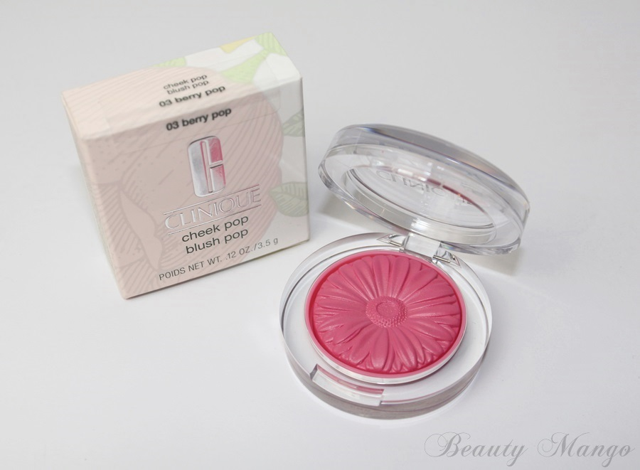 Clinique cheek pop blush – berry pop