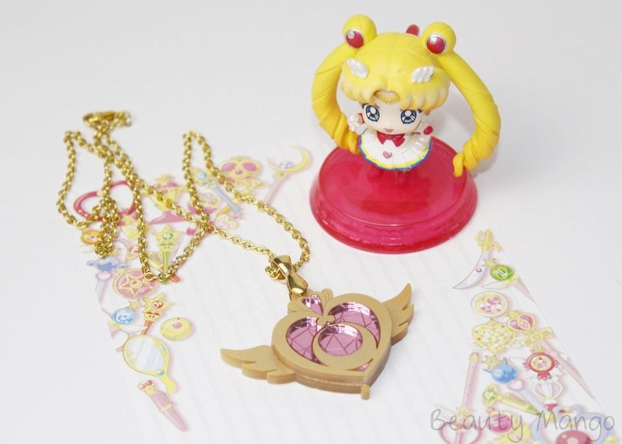 Sailor Moon Verwandlungsbrosche Kette