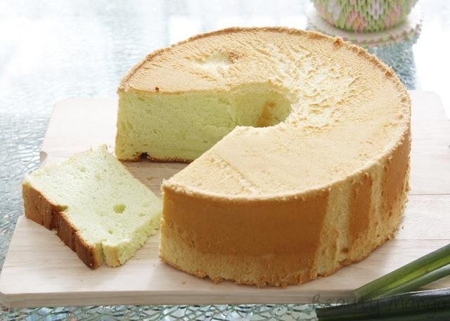 [Rezept] Pandan Chiffon Cake