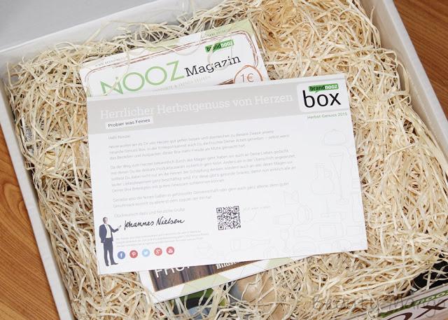 Brandnooz Herbst-Genuss Box 2015
