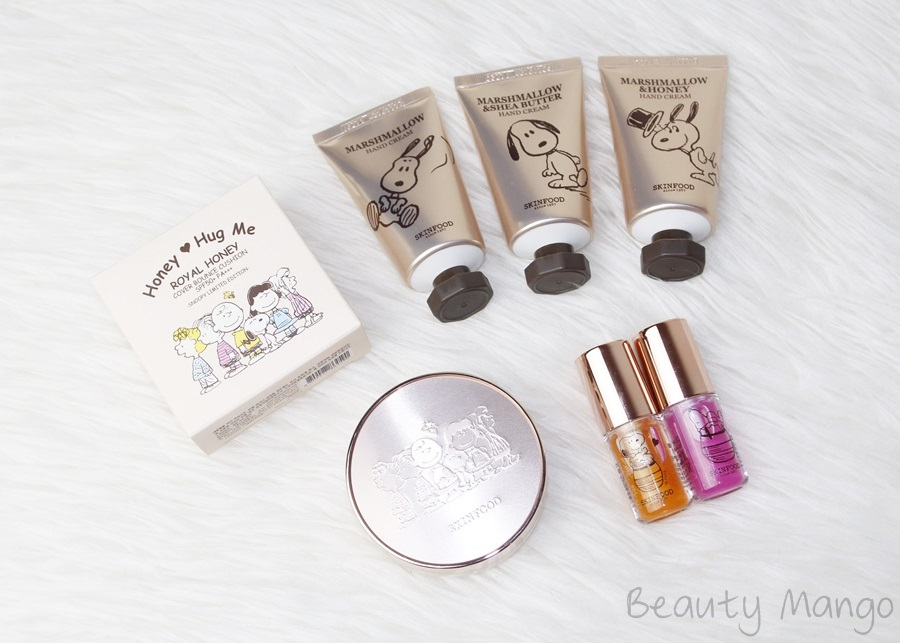 skinfood-snoopy-limited-edition-haul