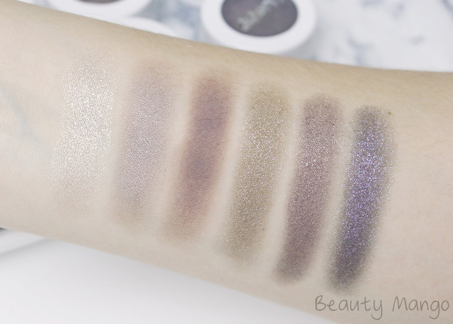 Colourpop Super Shock Shadow Swatches
