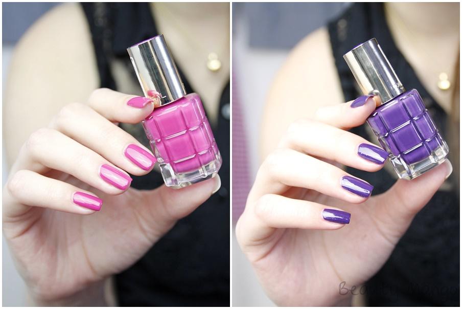 L'oréal Color Rich Le Vernis Fuchsia Palace - Violet De Nuit