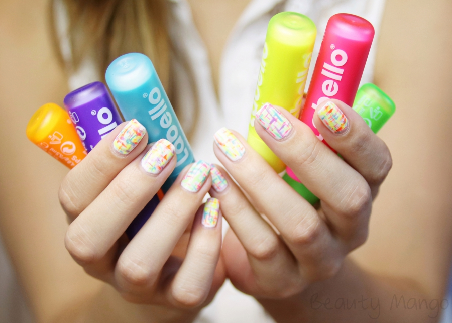 nail-art-neon-tweed