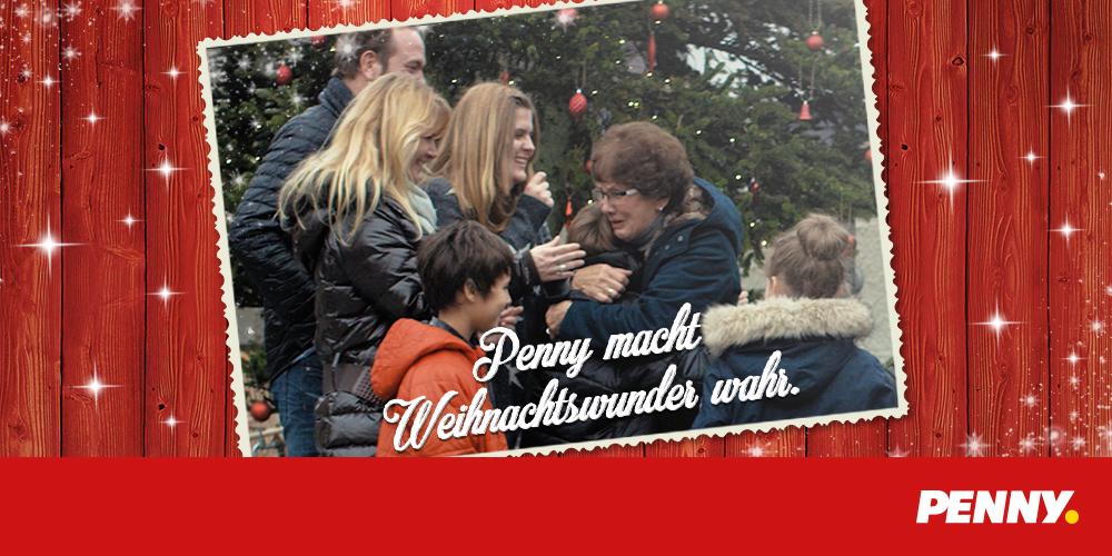 Penny macht Weihnachtswunder wahr
