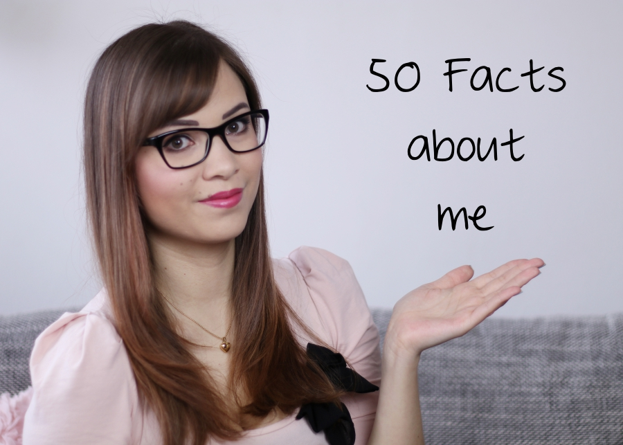 [Video] 50 Facts About Me