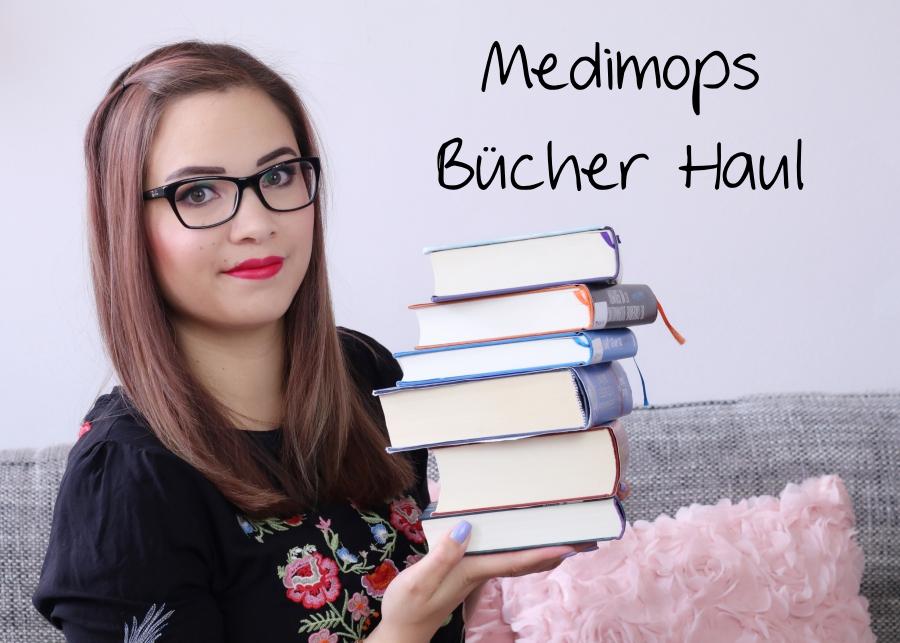 [Video] Medimops Bücher Haul | Neuzugänge Juli 2017