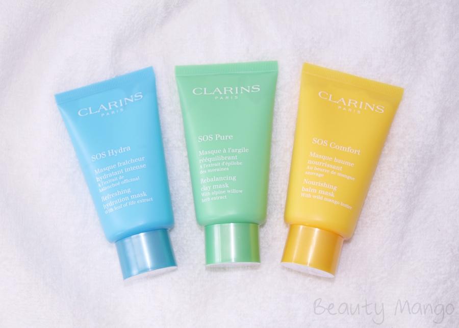 Clarins SOS-Masken