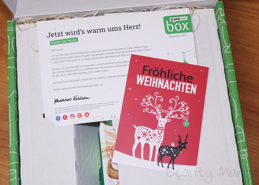 brandnoooz Box Dezember 2017