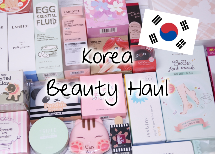 Korea Beauty Haul