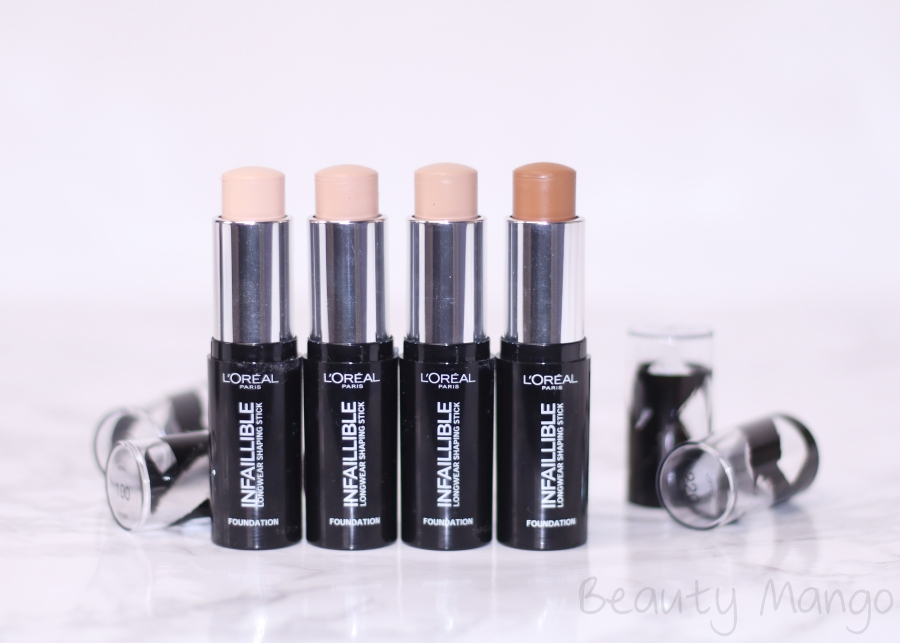 L'Oréal Infaillible Longwear Shaping Sticks