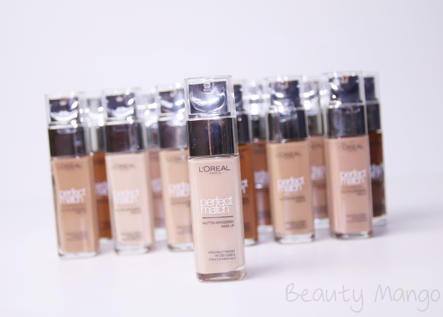 L'Oréal Perfect Match Foundation
