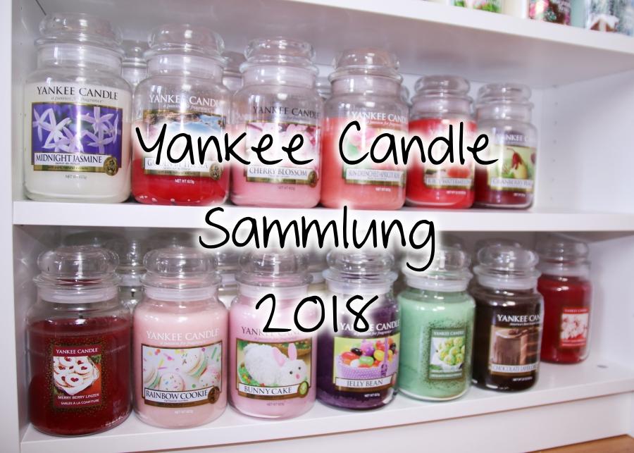Yankee Candle Sammlung 2018