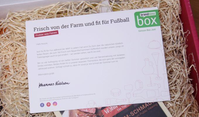 brandnooz Genuss Box 2018