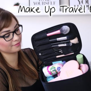 What's in my Make Up Travel Bag