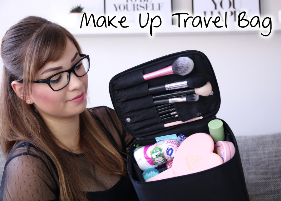 [Video] What's in my Make Up Travel Bag