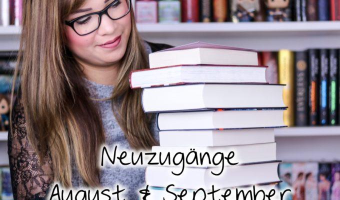 [Video] Bücher Haul | Neuzugänge August & September 2018