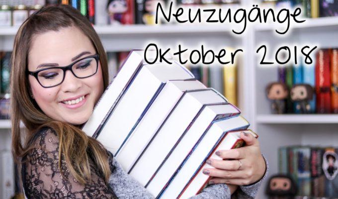 [Video] Bücher Haul | Neuzugänge Oktober 2018