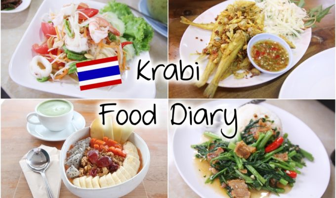 [Video] Krabi Food Diary