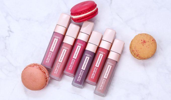 L'Oréal Infaillible Les Macarons Ultra Matte Liquid Lipsticks