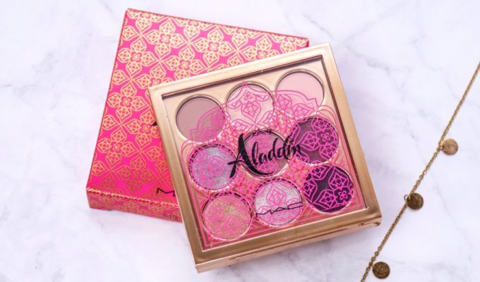 Mac Disney Aladdin Eyeshadow X9 Princess Jasmine