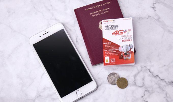 Mobiles Internet – SIM Karte in Thailand
