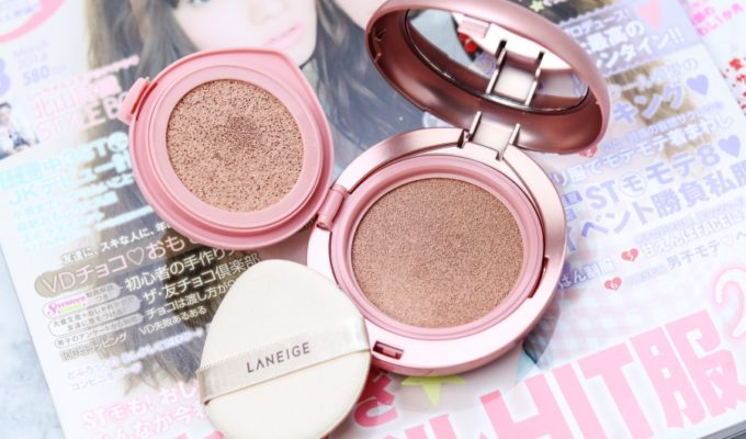 [Review] Laneige Cover Cushion & Concealing Base