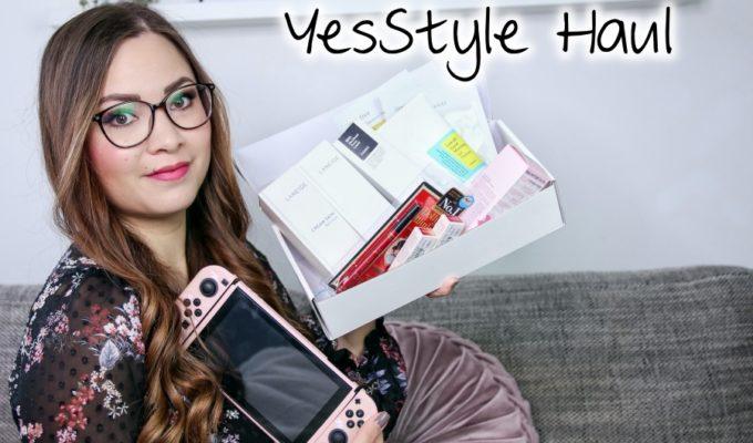 [Video] YesStyle Haul |K-Beauty, Nintendo Switch Zubehör, etc.